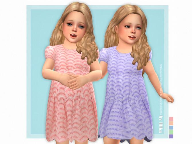 Sims 4 Michelle Dress by lillka at TSR