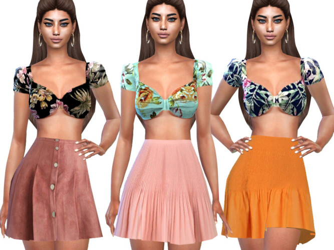 Summer Floral Blouses By Saliwa