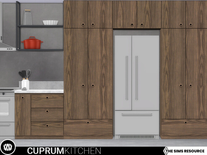 Sims 4 Cuprum Kitchen Appliances and more by wondymoon at TSR