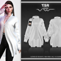 Clothes Set-130 (shirt) Bd474 By Busra-tr