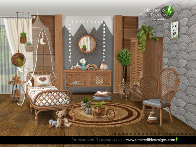 Naturalis Kids Room By Simcredible