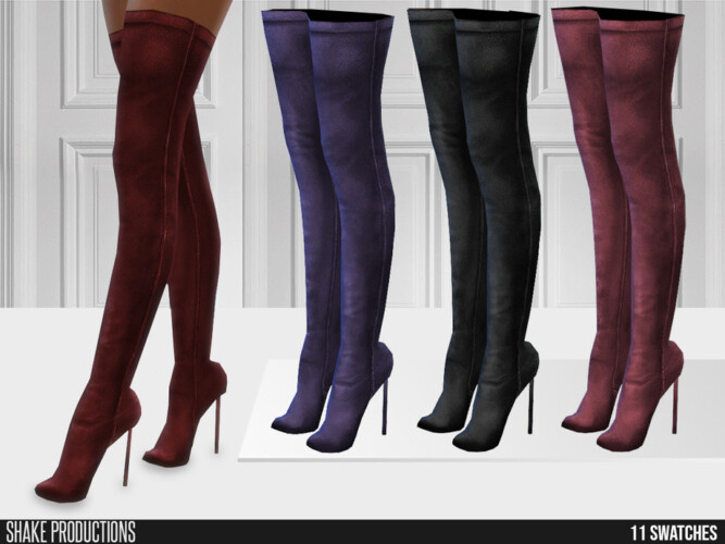 678 Leather High Heels By Shakeproductions