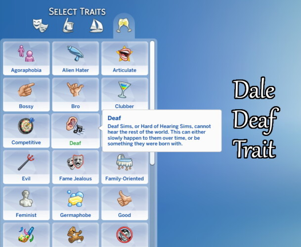 Dale Deaf Trait By Dalerune