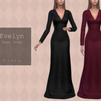 Evelyn Gown By Pipco