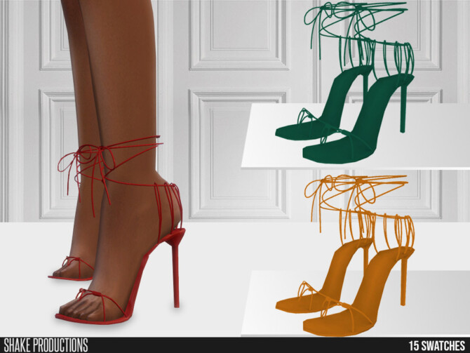 Sims 4 666 High Heels by ShakeProductions at TSR