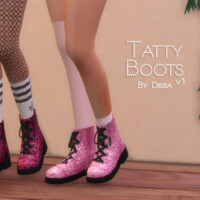 Tatty Boots V1 By Dissia