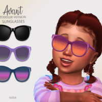 Avant Toddler Sunglasses By Suzue