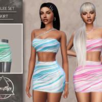 Marlee Set Skirt By Camuflaje