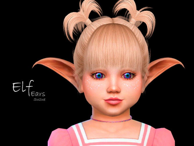 Elf Toddler Ears By Suzue