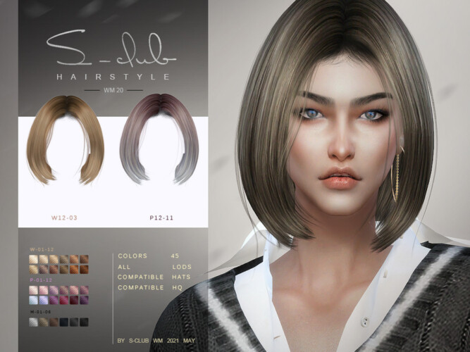Hair For Females 202120 By S-club Wm