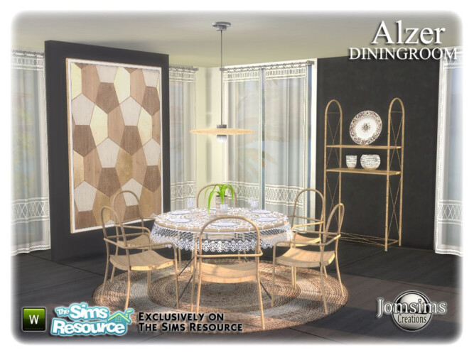 Alzer Dining Room By Jomsims