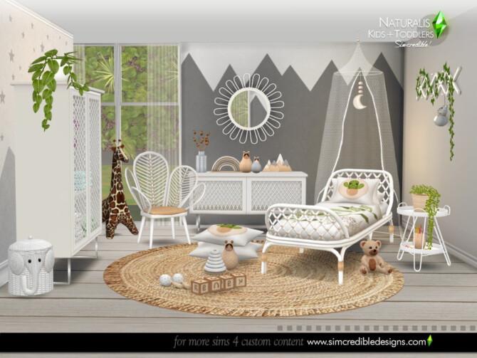 Sims 4 Naturalis Kids room by SIMcredible at TSR
