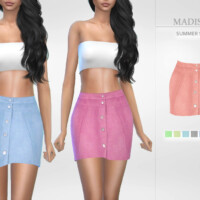 Madison Summer Skirt By Puresim