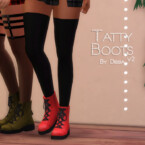 Tatty Boots V2 By Dissia