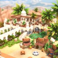 Arabiadorable Tea And Bathhouse By Bradybrad7