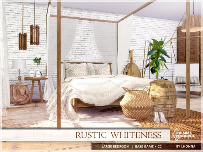 Rustic Whiteness Bedroom By Lhonna