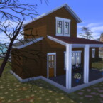 Modern Farmhouse For 2 Sims By Archie