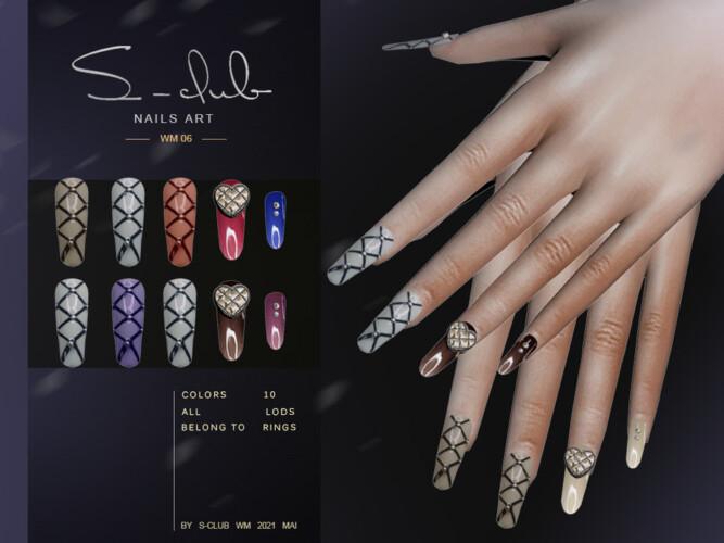 Nails 202106 By S-club Wm