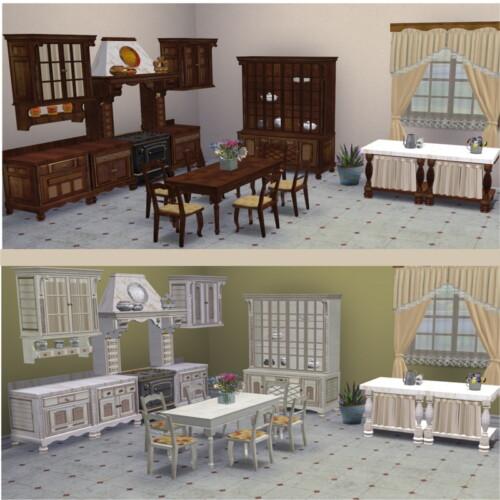 Vitasims Cottage Kitchen Conversion By Clara