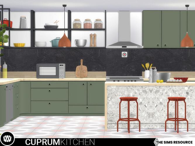 Cuprum Kitchen Surfaces By Wondymoon