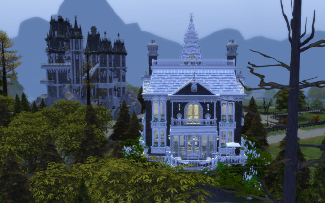 Sims 4 The Victorian Goth by alexiasi at Mod The Sims 4