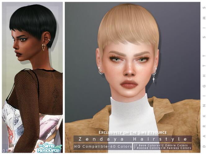 Zendaya Hairstyle By Darknightt