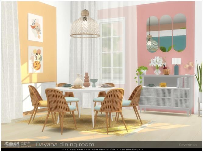 Dayana Dining Room By Severinka