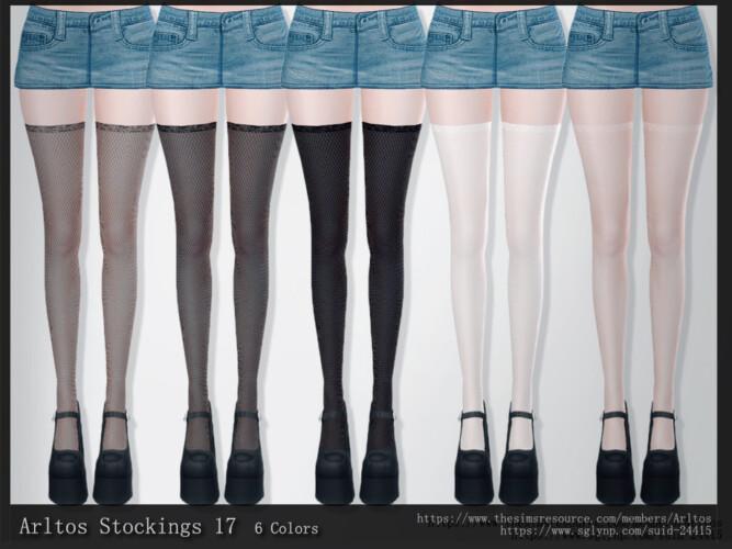 Stockings 17 By Arltos