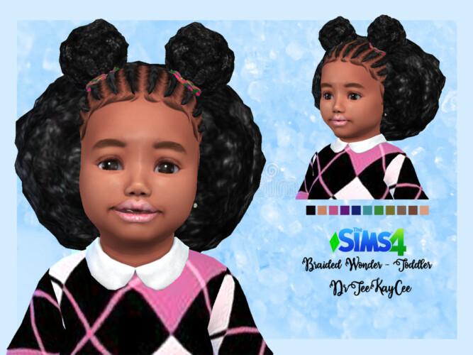 Braided Wonder Hair Toddler By Drteekaycee