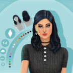 Bella Hairstyle By Simcelebrity00