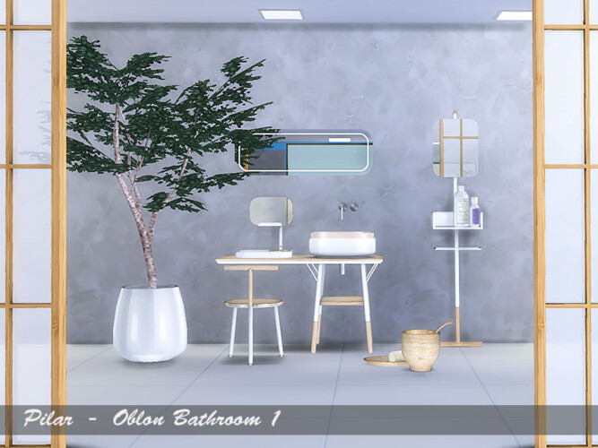 Oblon Bathroom By Pilar