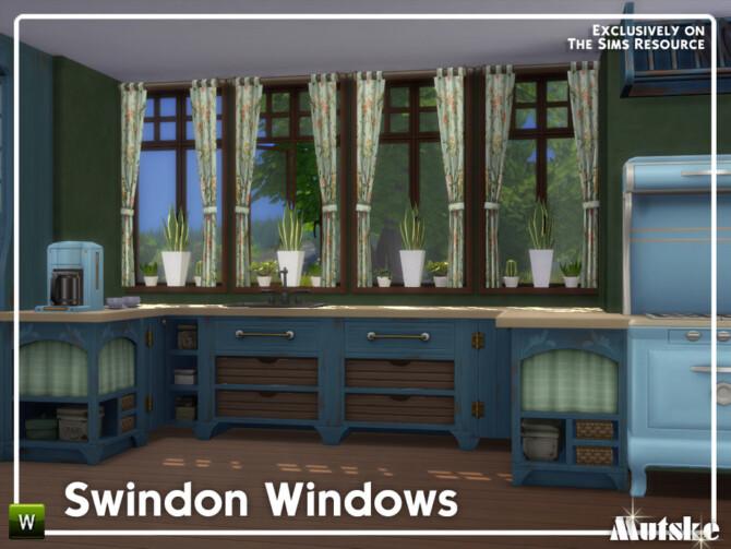 Sims 4 Swindon Construction Windows Part 1 by mutske at TSR
