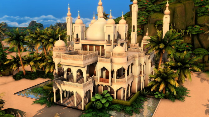 Moroccan Palace By Plumbobkingdom