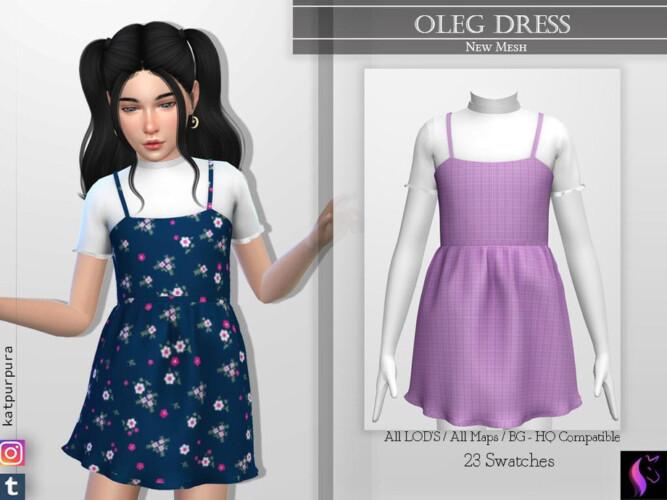 Oleg Dress By Katpurpura