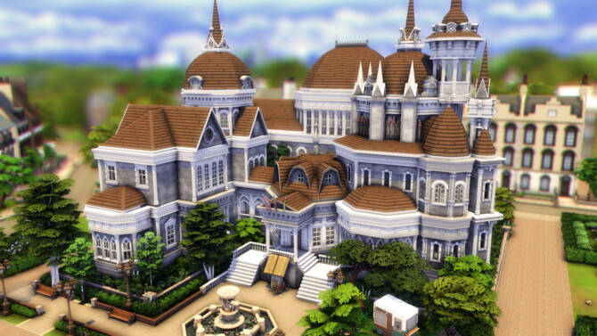 Britechester Library By Plumbobkingdom