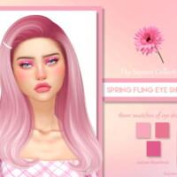 Spring Fling Eye Shadows By Ladysimmer94
