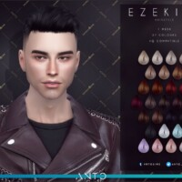 Ezekiel Short Hair With Shaved Sides By Anto