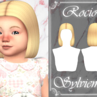 Rocio Hairstyle (toddler) By Sylviemy