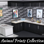 Watercolor Animal Prints Collection