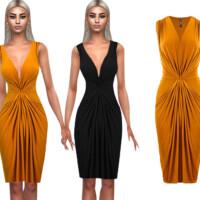 Elegant Formal Dress By Saliwa