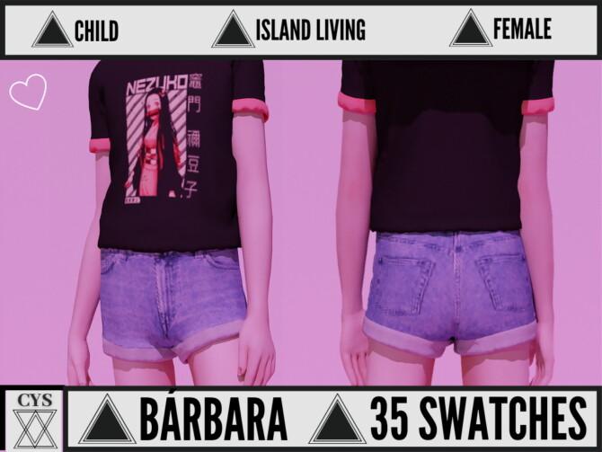 Sims 4 Barbara T Shirt at Clarity Sims