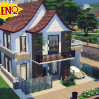 Reno Small Modern Family House By Genkaiharetsu