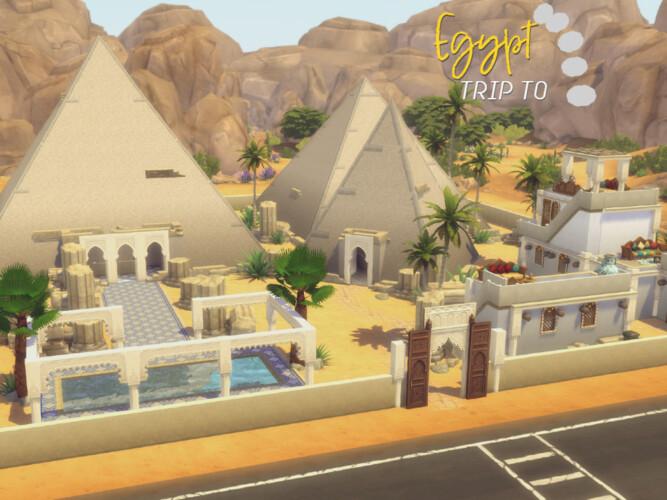 Trip To Egypt Lot By Genkaiharetsu