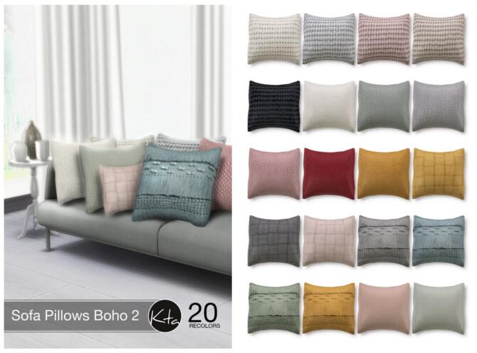 Sofa Pillows Boho 2