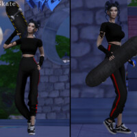 Let's Skate (pose Pack) By Yanisim