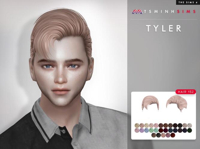 Tyler Hair 152 By Tsminhsims