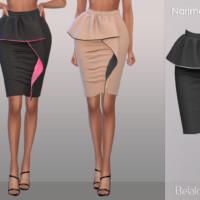 Belaloallure Nariman Skirt By Belal1997