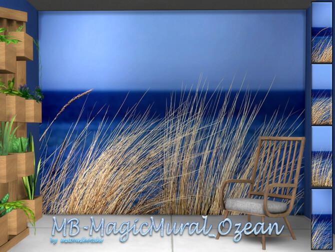 Sims 4 MB Magic Mural Ozean by matomibotaki at TSR