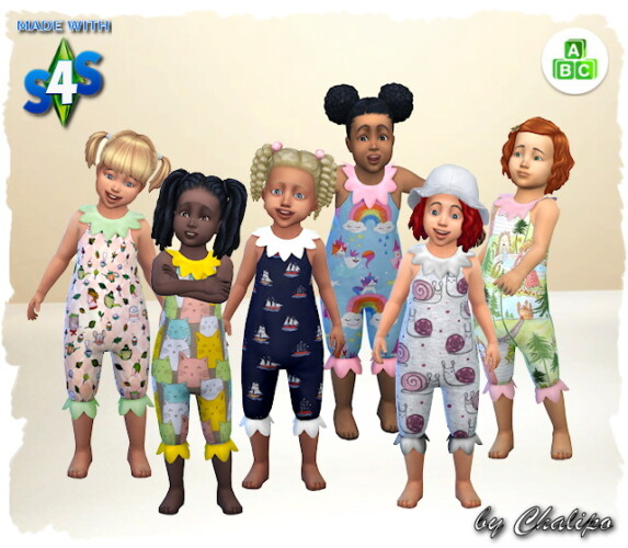 Toddler Overall By Chalipo