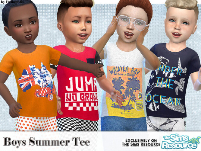 Boys Summer Tee By Pelineldis